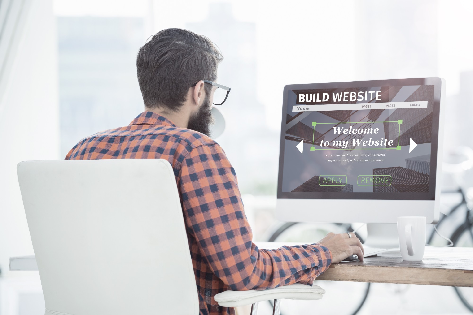 types of website design